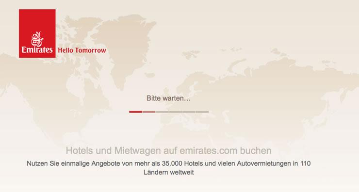 Erfahrungen bei Emirates einfach sehr gut.