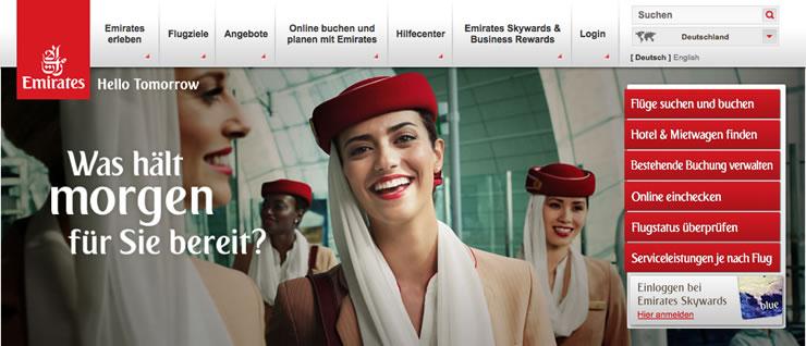 Hier können Sie den aktuellen Emirates Promocode erhalten