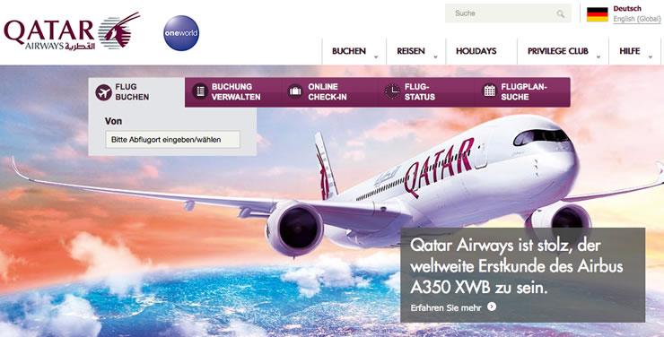 Hier finden Sie den Qatar Promo und Gutschein-Code